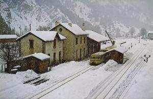 Thorama sous la neige