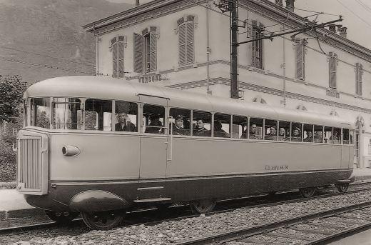 Italia - railbus Fiat A